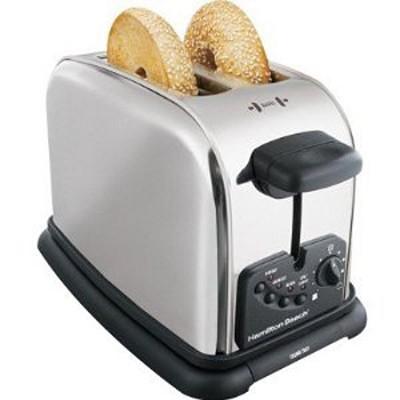 22602 2 Slice Chrome Toaster