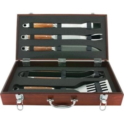 5-Piece Tool Set with Genuine Hardwood Case - 02136X