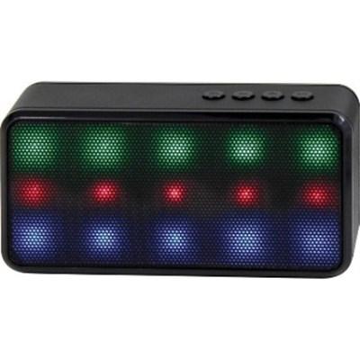Prysm Wireless Bluetooth Speaker with Dazzling LED Lights - Black