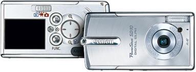 Powershot SD10 Digital ELPH Camera (Silver)