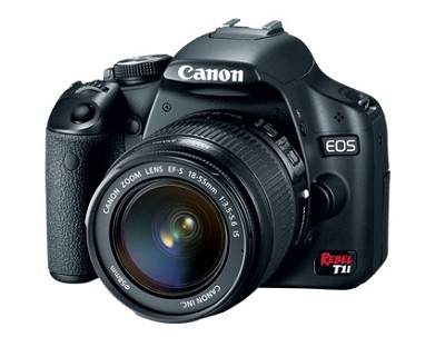 EOS Rebel T1i / 500D 15.1 MP CMOS DSLR 3-Inch LCD & EF-S 18-55IS(Refurbished)
