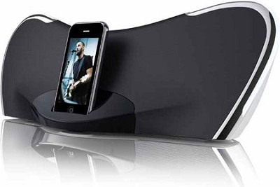 Stereo Speaker System with iPod Docking
