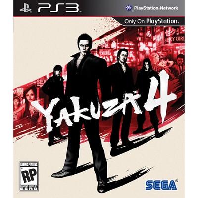 Yakuza 4 for PS3