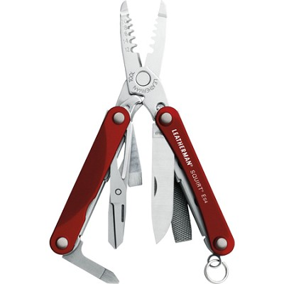Squirt ES4 Red Keychain Tool with Scissor
