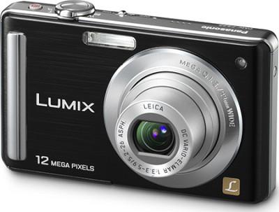 DMC-FS25K LUMIX 12.1 MP Compact Digital Camera w/ 3.0` Intelligent LCD (Black)