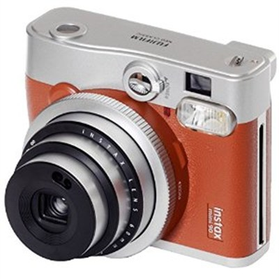 Instax Mini 90 Neo Classic Instant Film Camera Brown