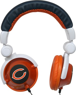 NFL Football Licensed Chicago Bears DJ Style Headphones