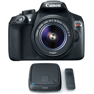 EOS Rebel T6 Digital SLR Camera w/ EF-S 18-55mm Lens + 1TB CS100 Storage Hub