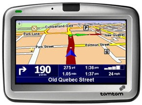 GO 910 Portable GPS Navigation System
