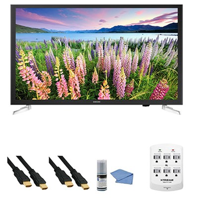 UN32J5205 - 32-Inch Full HD 1080p Smart LED HDTV + Hookup Kit