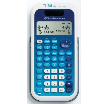 MultiView Scientific Calculator - 34MV/TBL/1L1/A