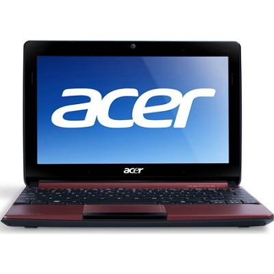 Aspire One AOD257-1611 10.1` Netbook PC (Red) - Intel Atom Proc Dual-Core N570