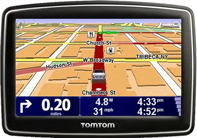 XL 340 Widescreen Car Navigator GPS w/ 4.3 inch Touchscreen