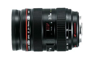EF 24-70mm F2.8 L USM Lens for Canon SLR Cameras