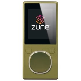 Zune 2nd Generation 8GB Media Player (Green)