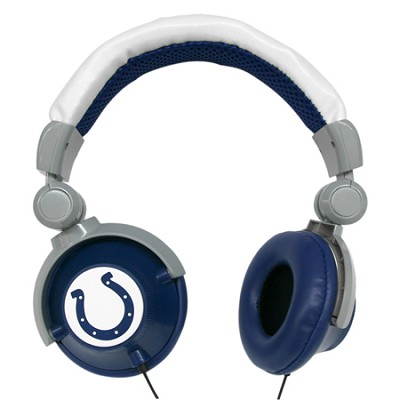 NFL Football Licensed Indianapolis Colts DJ Style Headphones