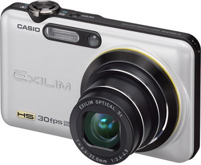 Exilim FC100 9MP 2.7` LCD Digital Camera (Pearl White)