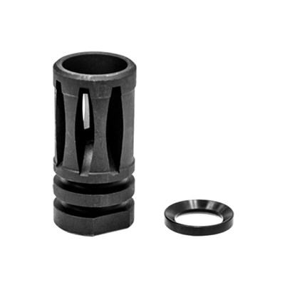 Standard AR15 A2 Flash Hider and Crush Washer Assembly - TL-ARFH01