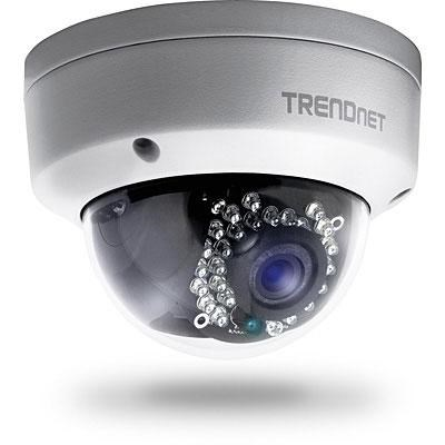 Outdoor 1.3 MP HD PoE Dome IR Network Camera - TV-IP321PI