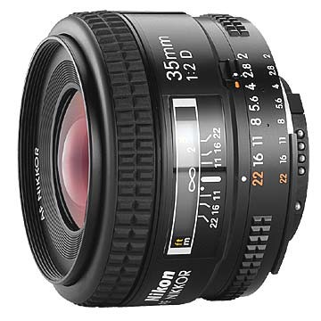 35mm F/2D AF Nikkor Lens, With Nikon 5-Year USA Warranty