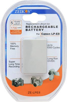Replacement Battery Pack LP-E8 For EOS Rebel T2i & T3i & T4i