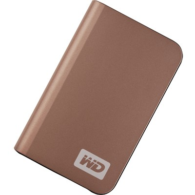 My Passport Elite Portable 320GB  External Hard Drive - Bronze { WDMLZ3200TN }