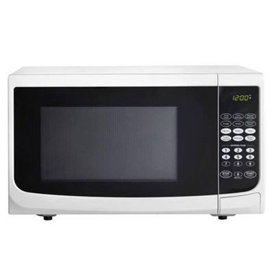 0.7 cu.ft. 700 watt Countertop Microwave, White