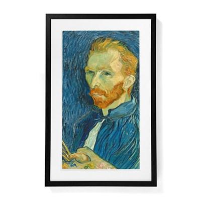 Digital Canvas Wi-Fi Enabled Wooden Frame (Black) (MEU1BLK27)