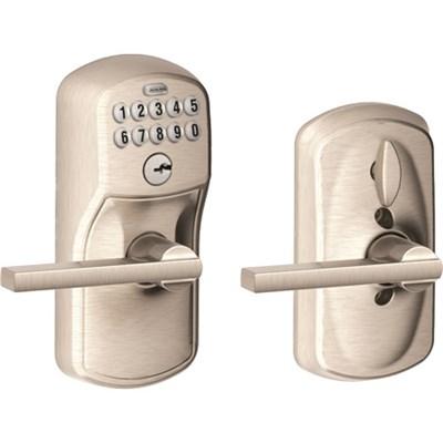 Keypad Lever - Latitude Lever, Plymouth Trim, Nickel FE595 Ply 619/Lat
