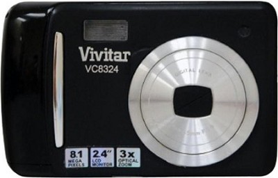 Vivicam 8324 Digital Camera (Black)