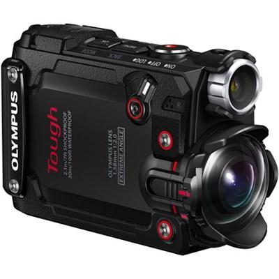 Stylus TG-Tracker 4K Action Cam Waterproof Shockproof Freezeproof (Black)