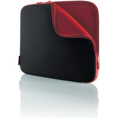 F8N048-BR - Neoprene Notebook Sleeve for 15.4-Inch Laptop (Jet/Cabernet)