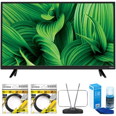 D-Series 48` Full Array LED TV 2017 Model D48n-E0 with Cleaning Bundle