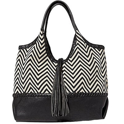 Portofino Shoulder Bag - Zig Zag