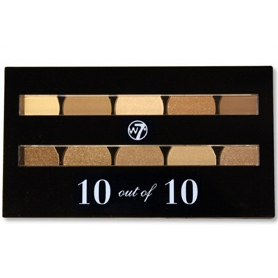 10 out of 10 Eyeshadow Palettes Browns
