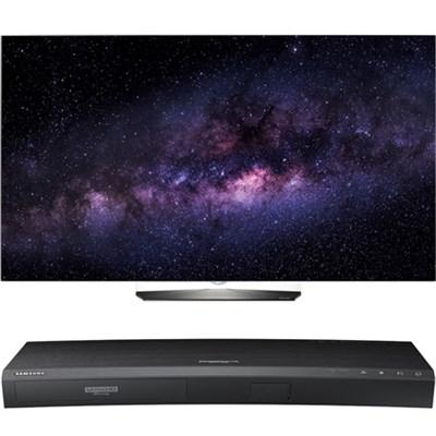 OLED55B6P 55` 4K UHD Smart OLED TV w/ UBD-K8500 3D 4K Ultra HD Blu-ray Player
