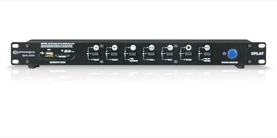 U-PLAY Professional Rack Mountable MP3 Player (USB +SD CARD)