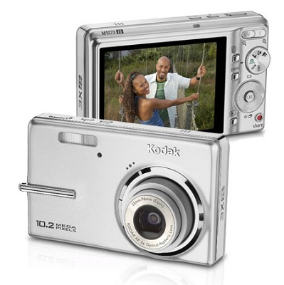 EasyShare M1073 IS 10.2 MP Digital Camera (Silver)