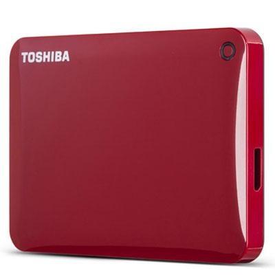 500GB Canvio Connect II Red