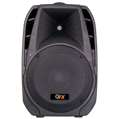 2-way Speaker with Built in Amplifier with Bluetooth Music Streaming - OPEN BOX