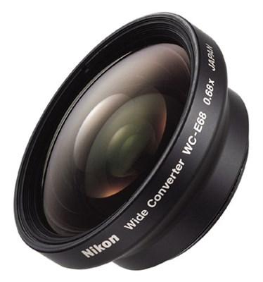 WC-E68 Wide Converter Lens for COOLPIX -CAMERAS - OPEN BOX