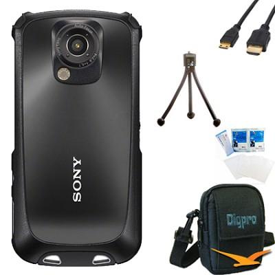MHS-TS22 Bloggie Sport HD Camera  Value Bundle (Black)