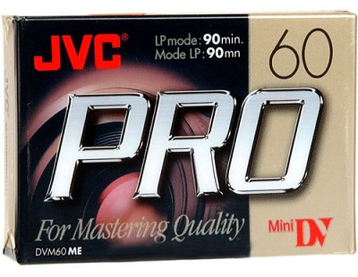 Mini DV 60-Minute Professional Digital Video Cassette