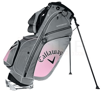 Warbird Xtreme Stand Bag for Golf (5111021) Silver/Pink