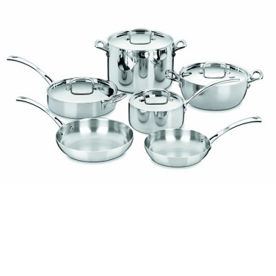 FCT-10 - 10-Piece French Classic Tri-Ply Stainless Set