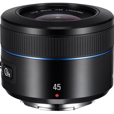 NX 45mm f/1.8 Camera Lens - Black