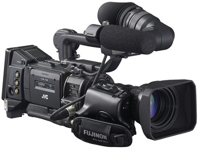 GY-HD200U 1/3` 3-CCD Pro HDV Camcorder with 16x Fujinon Lens