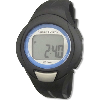 Walking FIT Heart Rate Monitor Watch Large - Black