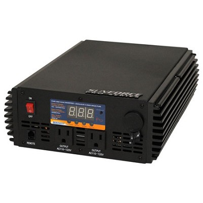 1000 Watt Pure Sine Wave Inverter with Remote Control - 11240