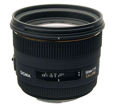 50mm F1.4 EX DG HSM Lens for Nikon Digital SLR Cameras